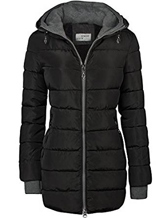 sehr warme damen winterjacke