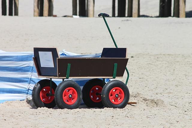 Bollerwagen faltbar - der faltbollerwagen