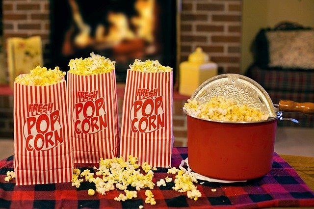 Mit Popcornmais Popcorn serlber machen